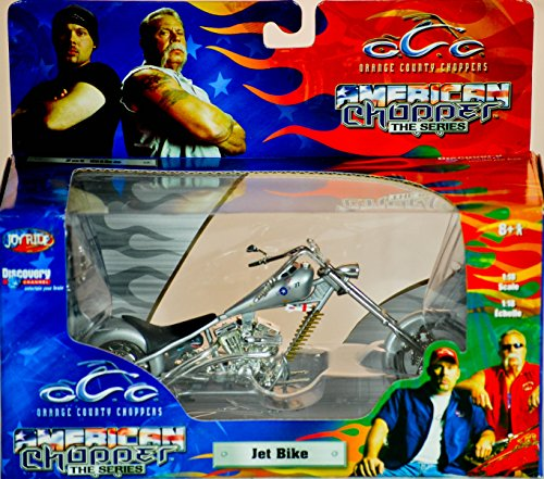2004 - RC2 Brands / ERTL / Joy Ride - Orange County Choppers - American Chopper The Series - Jet Bike - 1:18 Scale - Die Cast Metal - 1of 9 in Series - New - MIB - Limited Edition - Collectible (1 6 Scale Chopper compare prices)