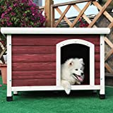 Petsfit 33.7 X 22.6 X 22.9 Inches Dog Houses, Dog House Outdoor