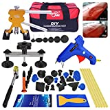 AUTOPDR 40pcs DIY Paintless Dent Removal Tool Kit for Automobile Body Motorcycle Refrigerator Washing Machine