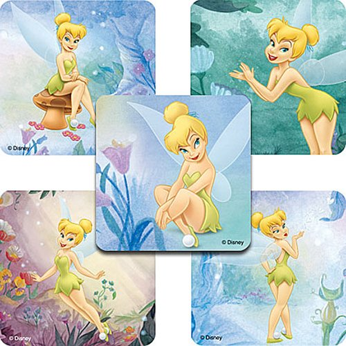 Disney Tinkerbell Stickers - Party Favors - 75 per Pack