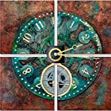 Yosemite Home Decor FCE-DF1157 Time is Neutral Hand Painted Abstract Artwork