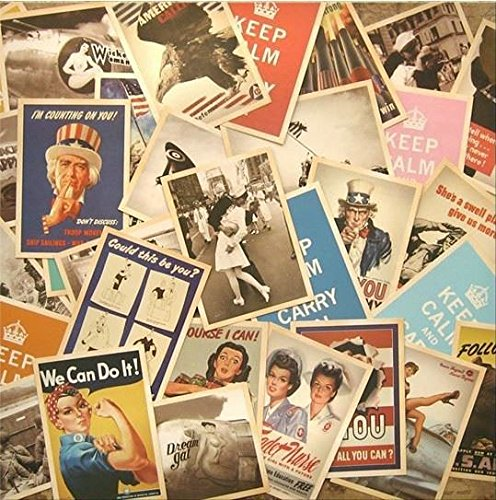 Lot de 32 cartes postales vintage/souvenirs/guerre pour vœux ou décoration