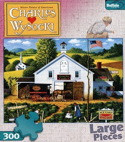 CHARLES WYSOCKI's AMERICANA PUZZLE Catchin' Bugs 300 - 1