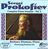 Piano Barbara Nissman Prokofiev: Piano Sonatas, Vol. 2, Nissman (UK Import)