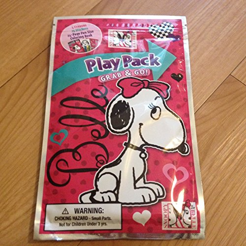 Play Pack Grab & Go Peanuts Snoopy and Belle (his sister)