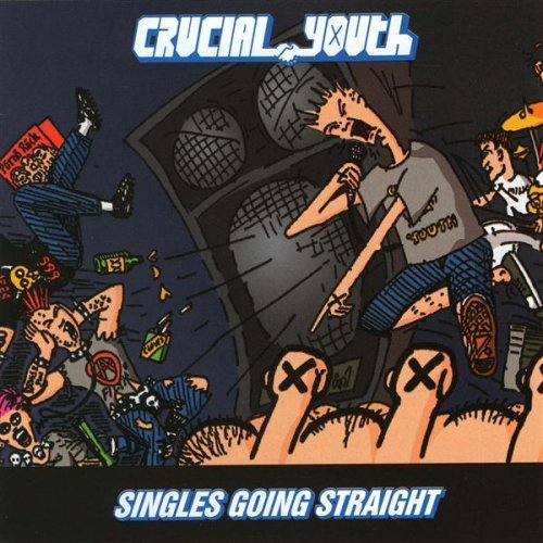 Singles Going Steady CD by Crucial Youth (2001-09-01)