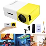 YG300 1080P Home Theater Cinema USB HDMI AV SD Mini Portable HD LED Projector (Color: AS PICTURED, Tamaño: AS PICTURED)