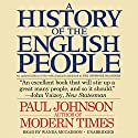 A History of the English People Audiobook by Paul Johnson Narrated by Wanda McCaddon