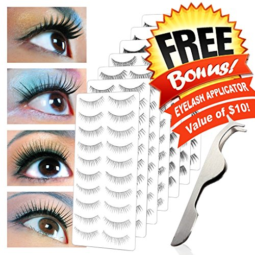TAOindustry 70 Pairs of False Eyelashes with 7 Different Styles