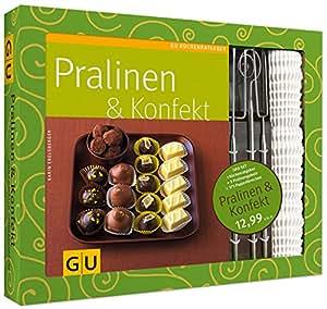Set Pralinen & Konfekt: Mit 3 Pralinengabeln und 375 Papierförmchen (GU Buch plus)