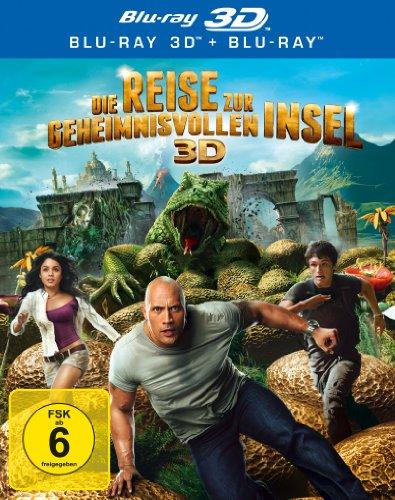 Die Reise zur geheimnisvollen Insel 3D (inkl. 2D-Version) [3D Blu-ray]