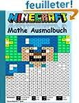 Minecraft Mathe Ausmalbuch