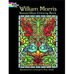 William Morris Stained Glass Coloring Book (Dover Pictorial Archives)