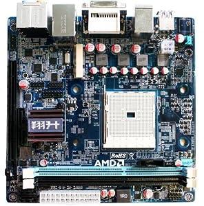Giada Tech マザーボード AMD A75FCH FM1ソケット Mini-ITX MI-A75