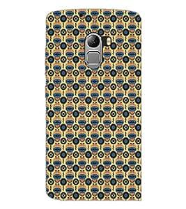 PrintDhaba Pattern D-5192 Back Case Cover for LENOVO VIBE K4 NOTE (Multi-Coloured)