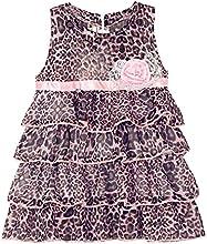 LittleSpring Little Girls39 Chiffon Dress Leopard