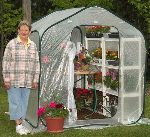 Pop Up Portable Greenhouse : Flower house fhsp springhouse greenhouse the lawn
