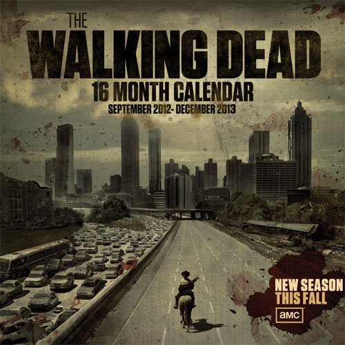 (12x12) Walking Dead 16-Month 2013 Wall Calendar