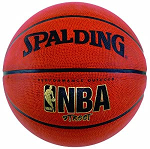 Spalding NBA Street Outdoor Basketball, 27.5-Inch