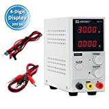 DC Power Supply Variable 30V 5A, (Precision 00.01V,0.001A)4-Digital LED Display, Precision Adjustable Regulated Switching Power Supply Digital with Alligator Leads US Power Cord (Tamaño: precision 00.01V,0.001A)