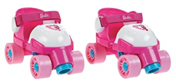 Fisher-Price Grow with Me Barbie Quad Roller Skates