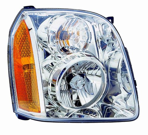 Depo 335-1142R-AS GMC Yukon Passenger Side Replacement Headlight Assembly (Headlight Assembly Gmc Yukon compare prices)