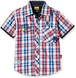 Seals Boys' Shirt (AM8097_1_BLUE_10)