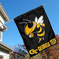 Buy Georgia Tech Yellow Jackets House Flag by College Flags and Banners Co.