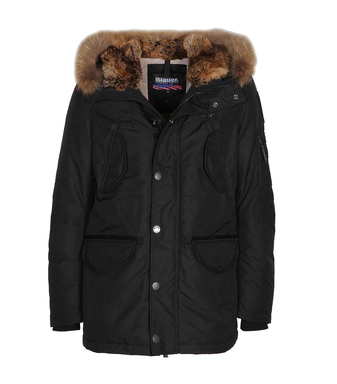BLAUER USA Herren Daunenjacke Winterjacke schwarz kaufen