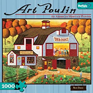 Art Poulin: Barn Dance 1000 Pieces Jigsaw Puzzle