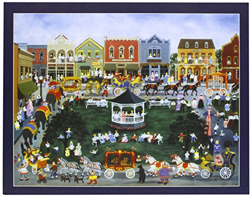 Lang Village Celebration by Mary Singleton Jigsaw Puzzle (500-Piece) - 1