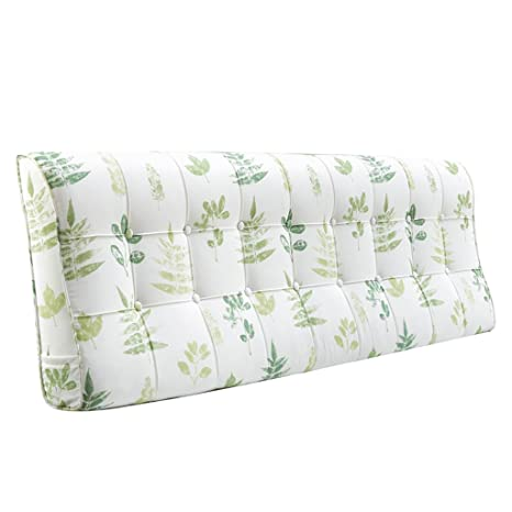 GUOWEI Coussin de chevet Lit en flanelle Grand coussin triangulaire rempli Coussin dormant Support de positionnement Pillow Reading Pillow-4 Tailles disponible Bureau Lumbar Pad ( taille : 200*58*12cm )