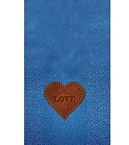 EPICCASE Jean heart Mobile Back Case Cover For LG Pro Lite (Designer Case)