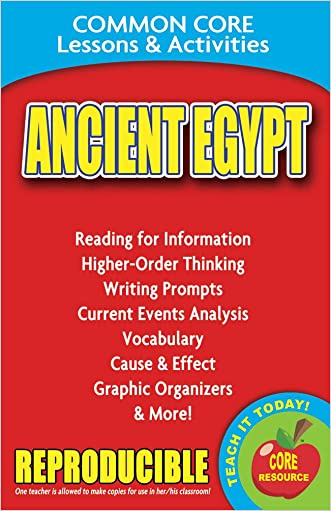 Ancient Egypt: Common Core Lessons & Activities