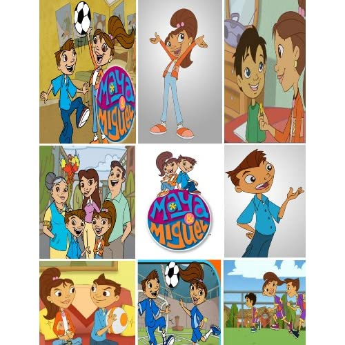 Amazon.com: PBS Kids Qubo Maya and Miguel Stickers