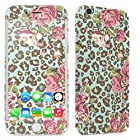 [SkinGuardz] Apple iPhone 6 (4.7) Vinyl Decal Scratch Protector Sticker Skin-[Leopard Rose]