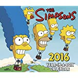 The Simpsons Year-In-A-Box Calendar (2016)