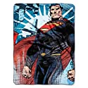 The Northwest Company Warner Bros Superman From Small Ville Micro Raschel Blanket, 46 by 60-Inch