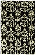 Charcoal Hand Tufted Southampton Rug: Soho Collection By Kaleen Rugs: 7'6