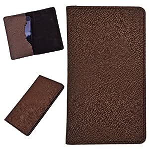 DCR Pu Leather case cover for Nokia Asha 230 * 230 Dual SIM (brown)