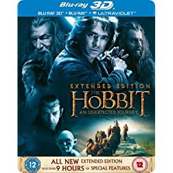 Hobbit: An Unexpected Journey 3d [Blu-ray]