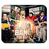 The Big Bang Theory Poster TV Actor Mousing Surface Customized Rectangle Mousepad