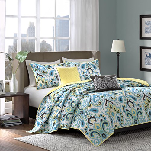 Turquoise and black bedding and comforter sets for Black and white bedding with turquoise walls
