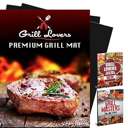 Premium BBQ Grill Mat Set of 2 - Great for Cooking, Baking, Grilling - Reusable, Fireproof, Durable, Heat Resistant, Non-Stick Barbecue Sheet - Use for Meat, Veggies, Seafood (Dallas Cowboys Baking compare prices)