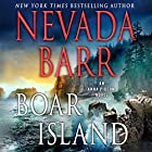 Boar Island: An Anna Pigeon Novel Audiobook by Nevada Barr Narrated by Barbara Rosenblat