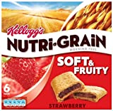 Kellogg's Nutri-grain Soft and Fruity Bar Strawberry 37 g (Pack of 7)