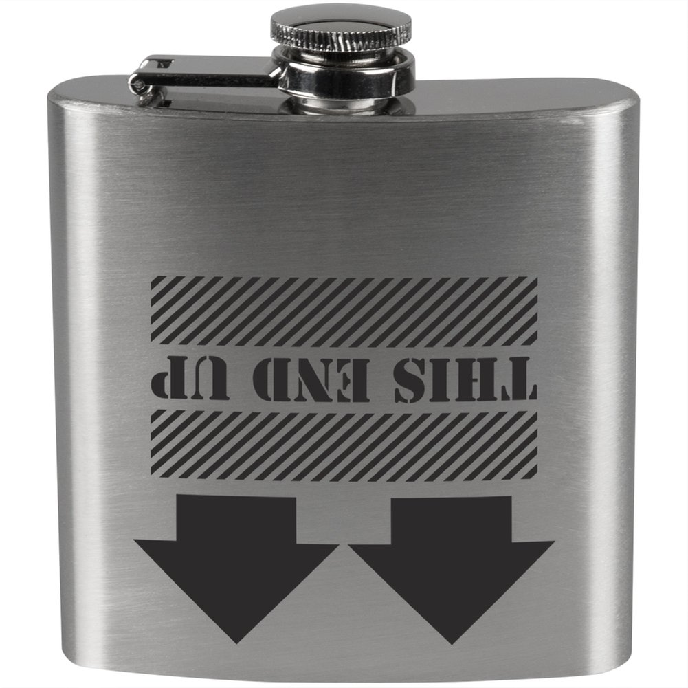 This End Up Stainless Steel Flask
