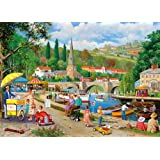 Gibsons 1000 Pieces Riverside Walk Jigsaw Puzzle