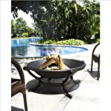 "Crosley Outdoor 35"" Cast Iron Fire Pit"