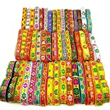Colorful Ethnic Laces Fabic Ribbon Patches Exquisite Embroidered Diy Cosplay Accessories Features Clothing Accessories , Color Ramdonly Send